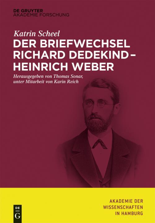Der Briefwechsel Richard Dedekind – Heinrich Weber cover