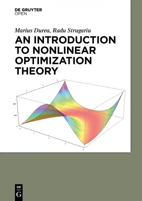 An Introduction to Nonlinear Optimization Theory cover