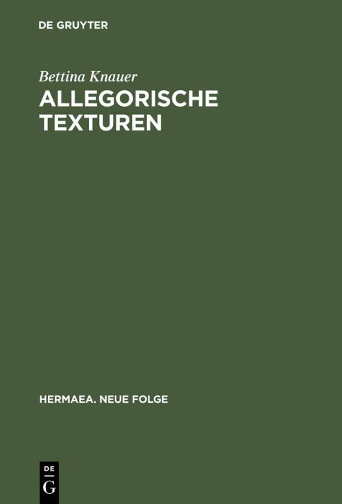 Allegorische Texturen cover