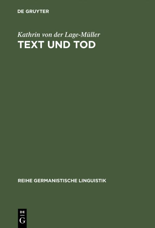 Text und Tod cover