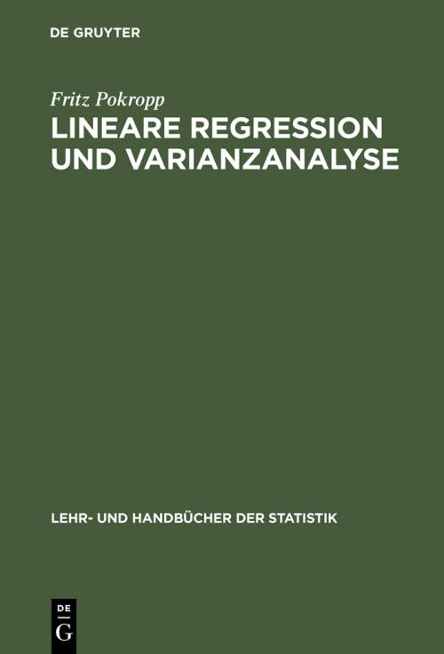 Lineare Regression und Varianzanalyse cover