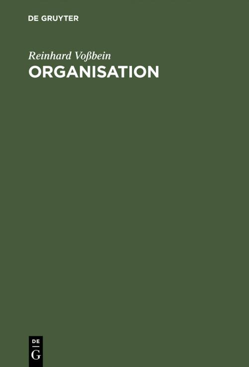 Organisation cover