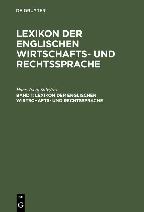 English-Deutsch cover