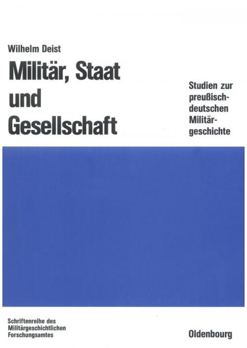 Militär, Staat und Gesellschaft. cover