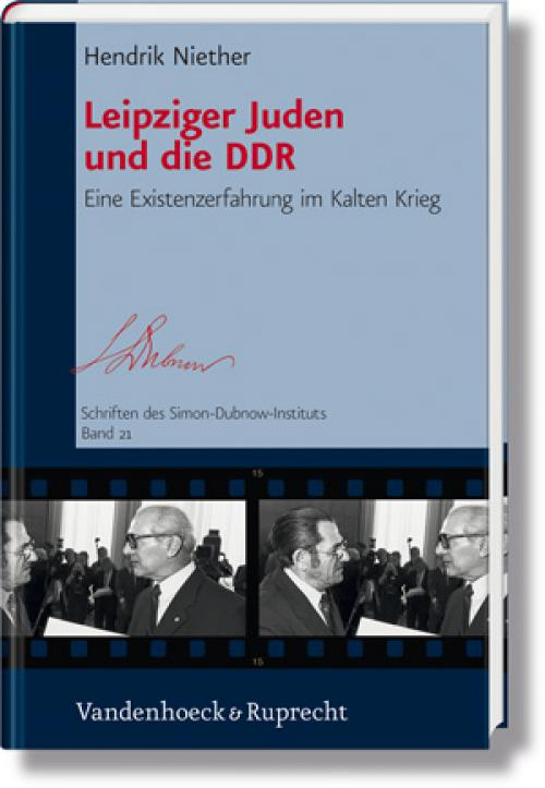 Leipziger Juden und die DDR cover