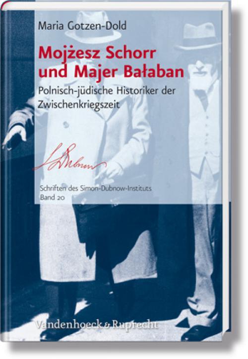 Mojżesz Schorr und Majer Bałaban cover