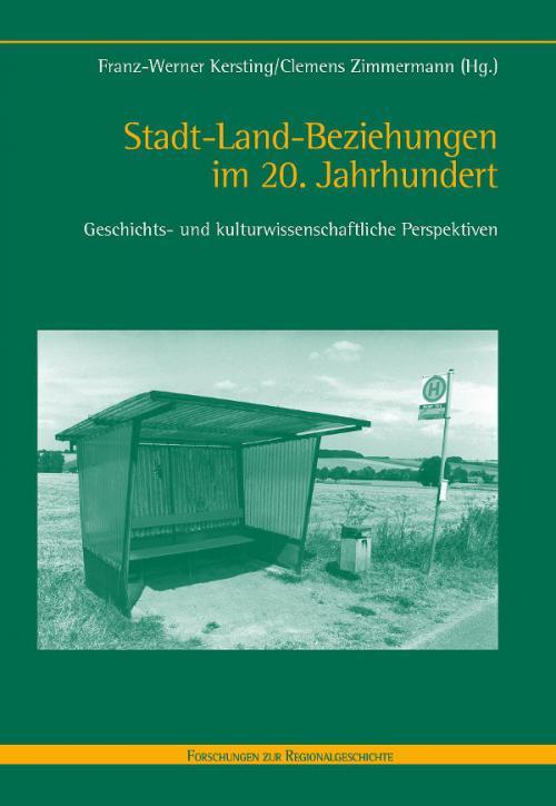 Stadt-Land-Beziehungen im 20. Jahrhundert cover