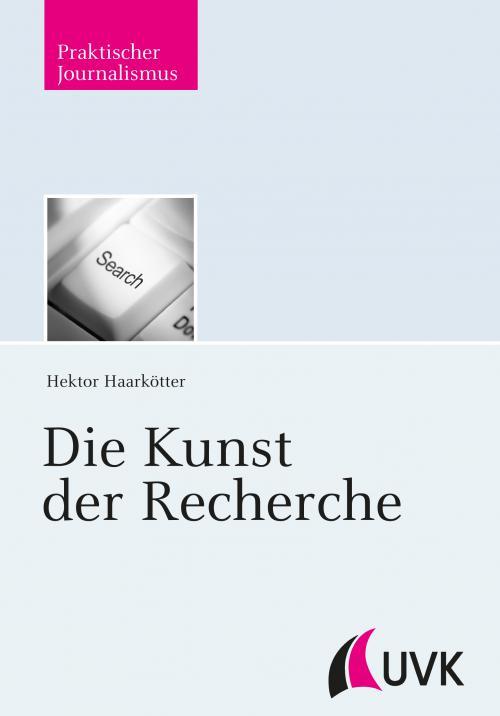 Die Kunst der Recherche cover