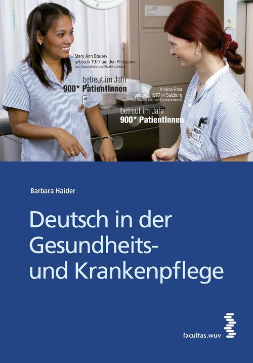 Deutsch in der Gesundheits- und Krankenpflege cover