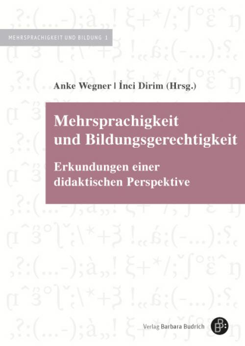 Mehrsprachigkeit und Bildungsgerechtigkeit cover