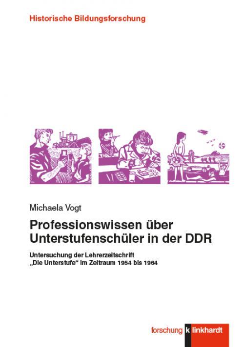 Professionswissen über Unterstufenschüler in der DDR cover
