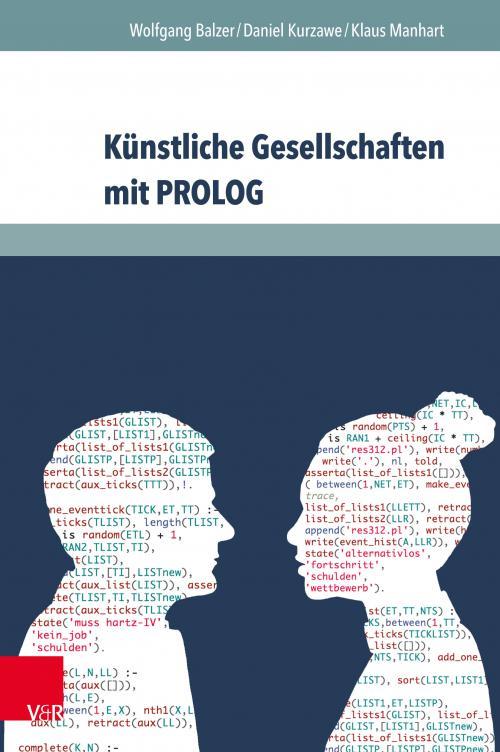 Künstliche Gesellschaften mit PROLOG cover