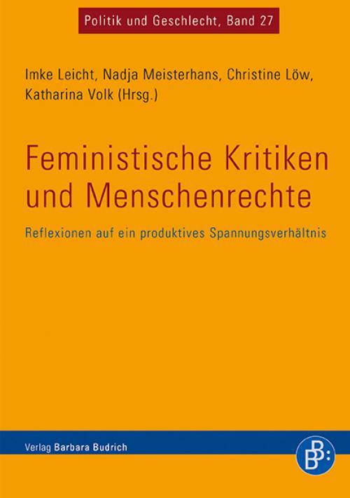 Feministische Kritiken und Menschenrechte cover