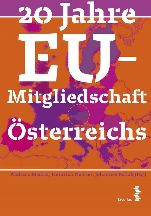 20 Jahre EU-Mitgliedschaft Österreichs cover