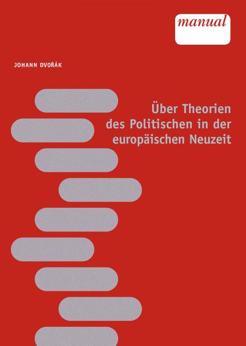 Theorien des Politischen in der europäischen Neuzeit cover