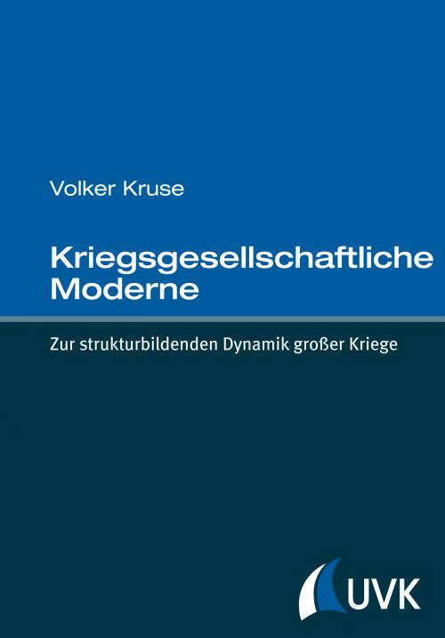 Kriegsgesellschaftliche Moderne cover