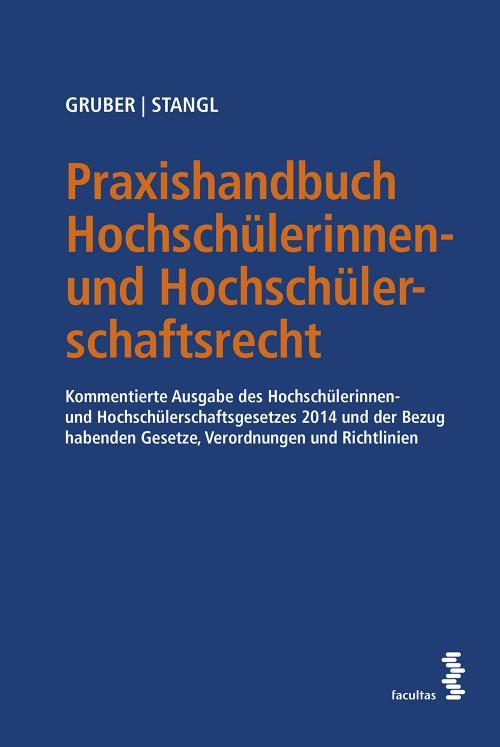 Praxishandbuch Hochschülerinnen- und Hochschülerschaftsrecht cover