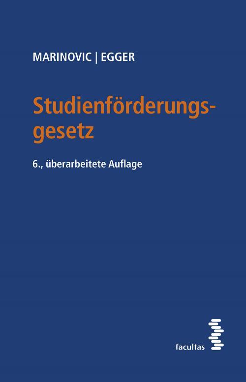 Studienförderungsgesetz cover