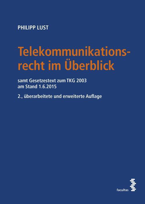 Telekommunikationsrecht im Überblick cover