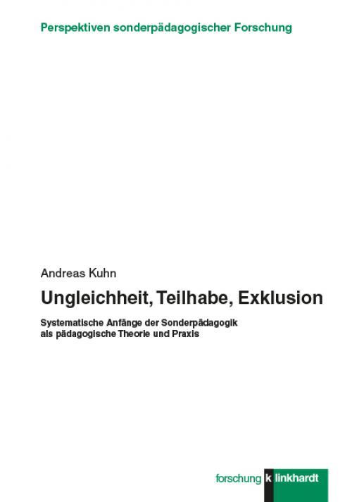 Ungleichheit, Teilhabe, Exklusion cover