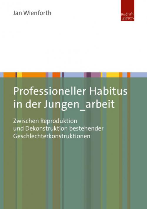 Professioneller Habitus in der Jungen_arbeit cover