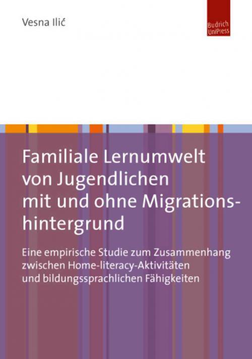 Familiale Lernumwelt von Jugendlichen mit und ohne Migrationshintergrund cover