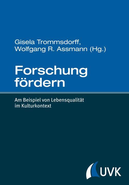 Forschung fördern cover