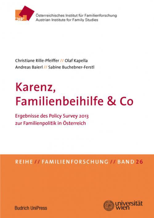 Karenz, Familienbeihilfe & Co cover