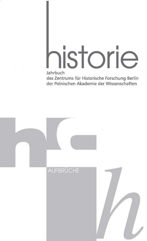 Historie Jahrbuch 8-9 2015 cover