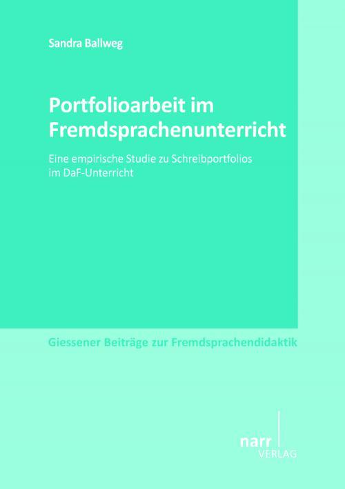 Portfolioarbeit im Fremdsprachenunterricht cover