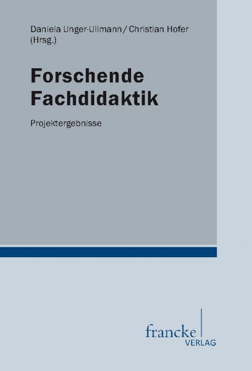 Forschende Fachdidaktik cover