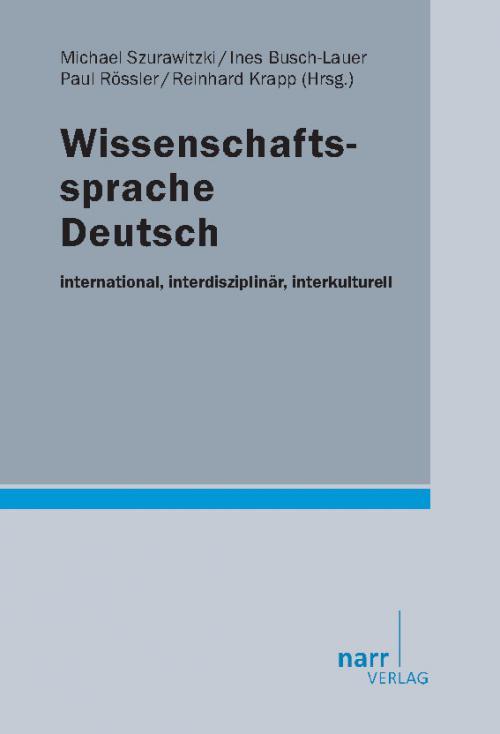 Wissenschaftssprache Deutsch cover