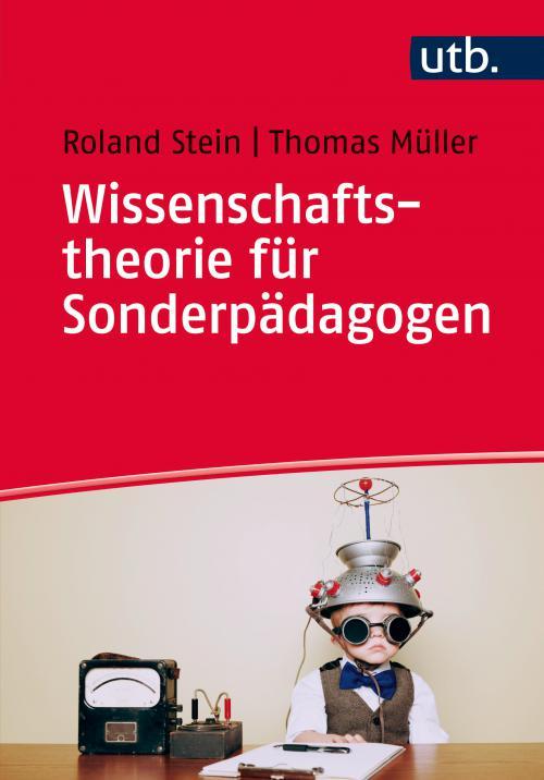 Wissenschaftstheorie für Sonderpädagogen cover