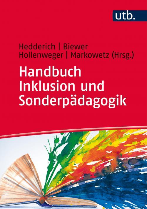 Handbuch Inklusion und Sonderpädagogik cover