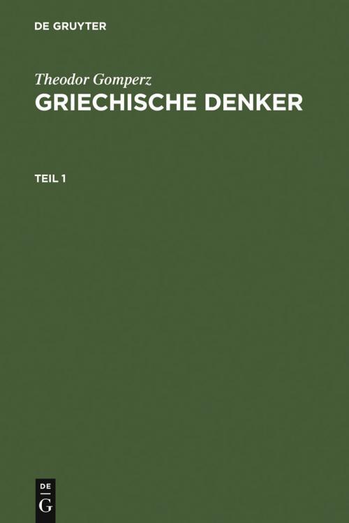 Griechische Denker cover