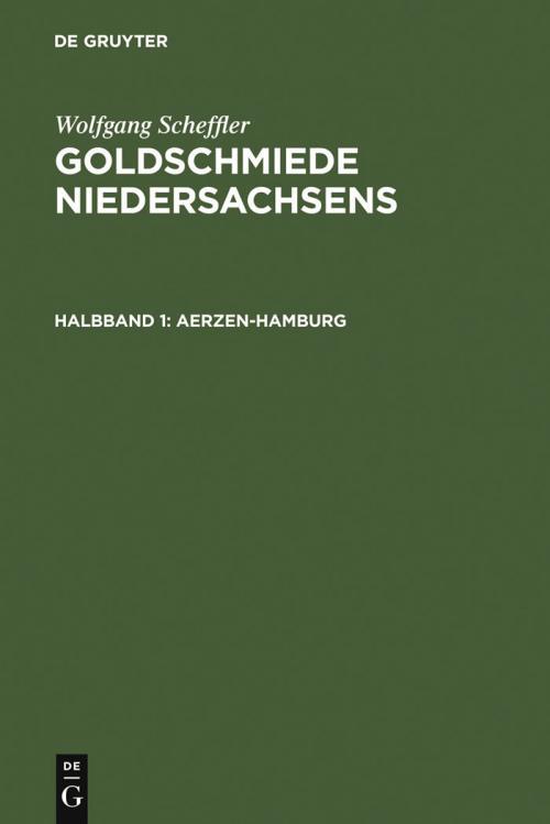 Goldschmiede Niedersachsens cover