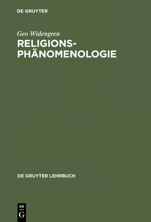 Religionsphänomenologie cover