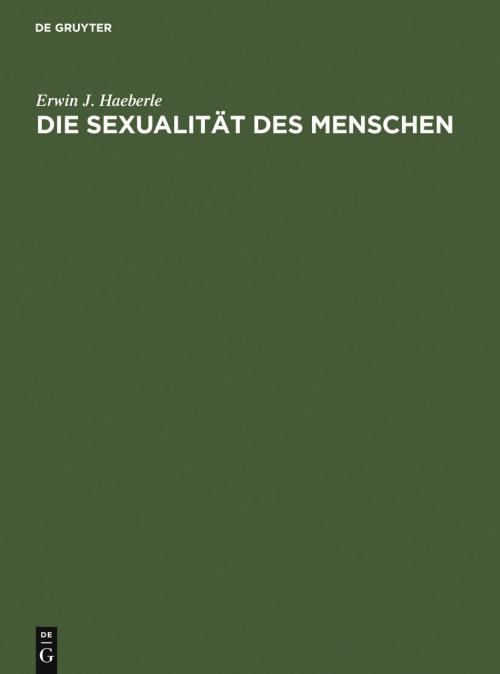 Die Sexualität des Menschen cover