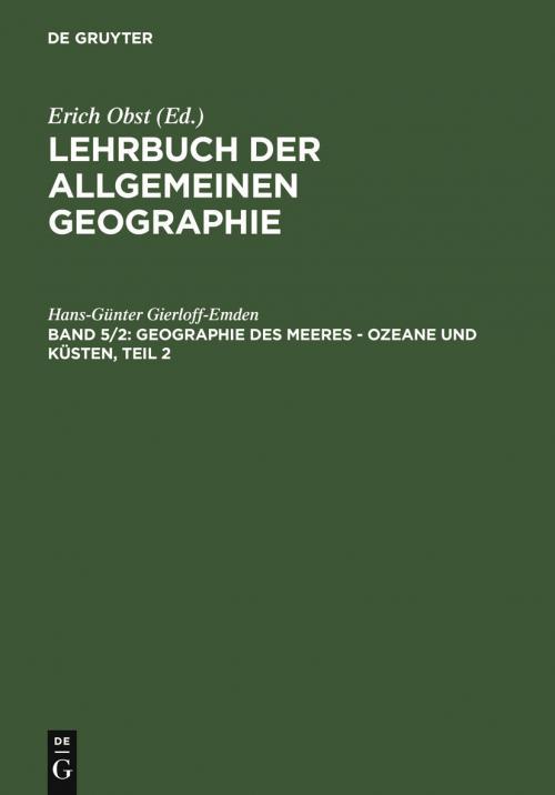 Geographie des Meeres – Ozeane und Küsten, Teil 2 cover