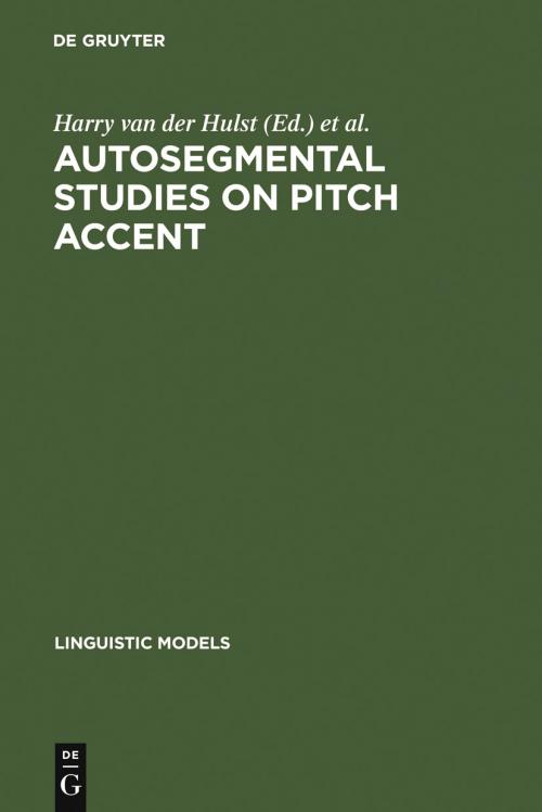 Autosegmental Studies on Pitch Accent cover