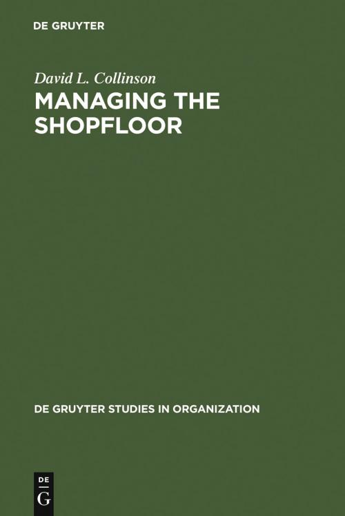 Managing the Shopfloor cover
