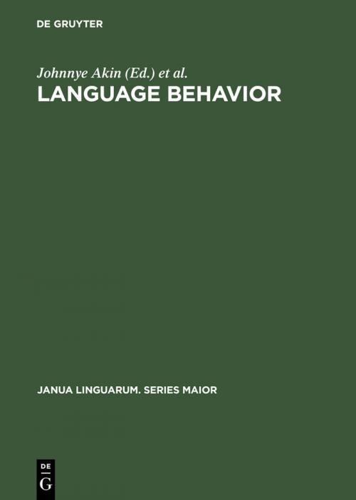 Language Behavior cover