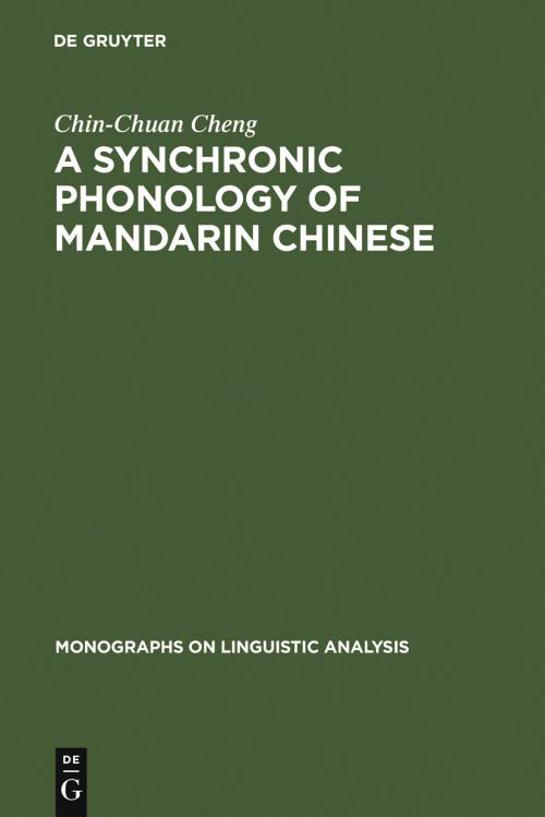 A Synchronic Phonology of Mandarin Chinese cover