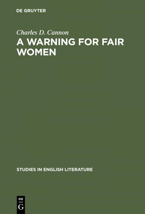 A Warning for Fair Women cover