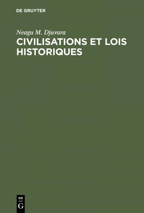 Civilisations et lois historiques cover