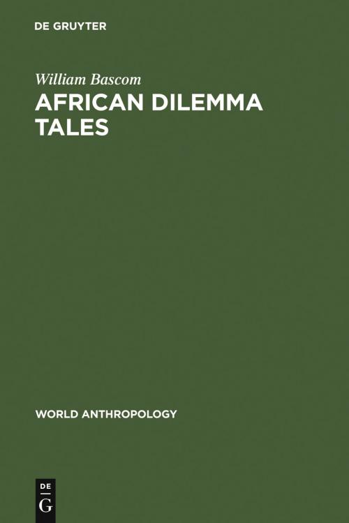 African Dilemma Tales cover