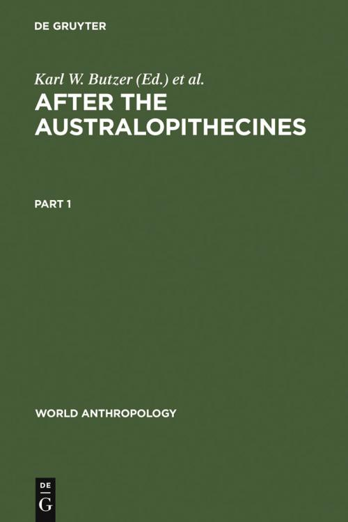 After the Australopithecines cover