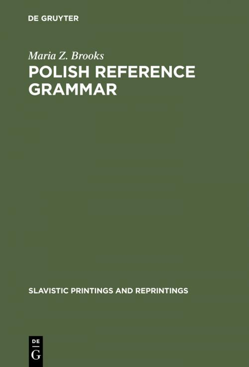 Polish Reference Grammar cover