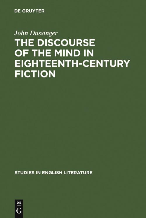 The Discourse of the Mind in Eighteenth-Century Fiction cover
