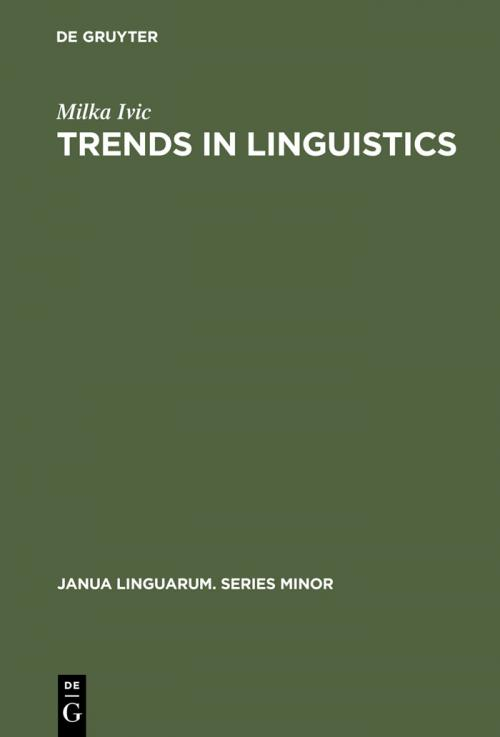 Trends in Linguistics cover